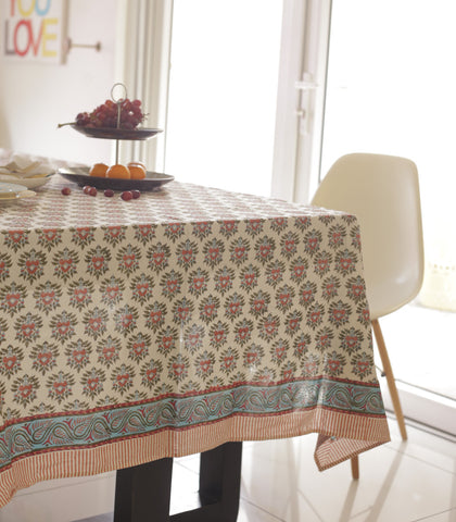 Tablecloth - Madhu Hand Block Tablecloth