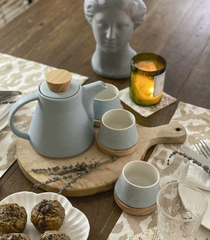 Tea Set - Coba Porcelain Tea Set