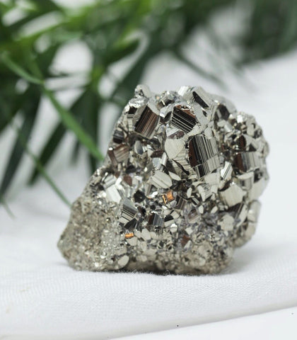 The Crystal Shop - Calm Chakra Raw Pyrite Crystal (2 Sizes)
