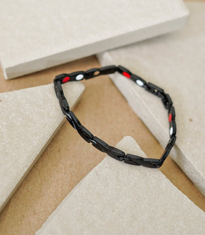 The Crystal Shop - Good Ions Noir 4-in-1 Health Bracelet