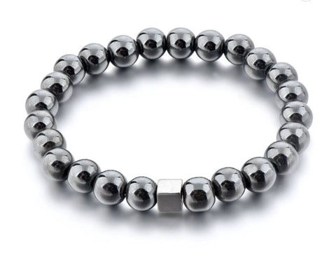 The Crystal Shop - Soul Stone Bracelet - Hematite