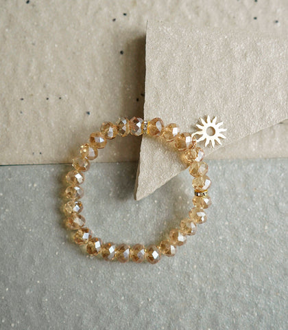 The Crystal Shop - Soul Stone Bracelet - Sun Accent