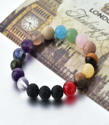 The Crystal Shop - Soul Stone Diffuser Bracelet - All In One Crystal
