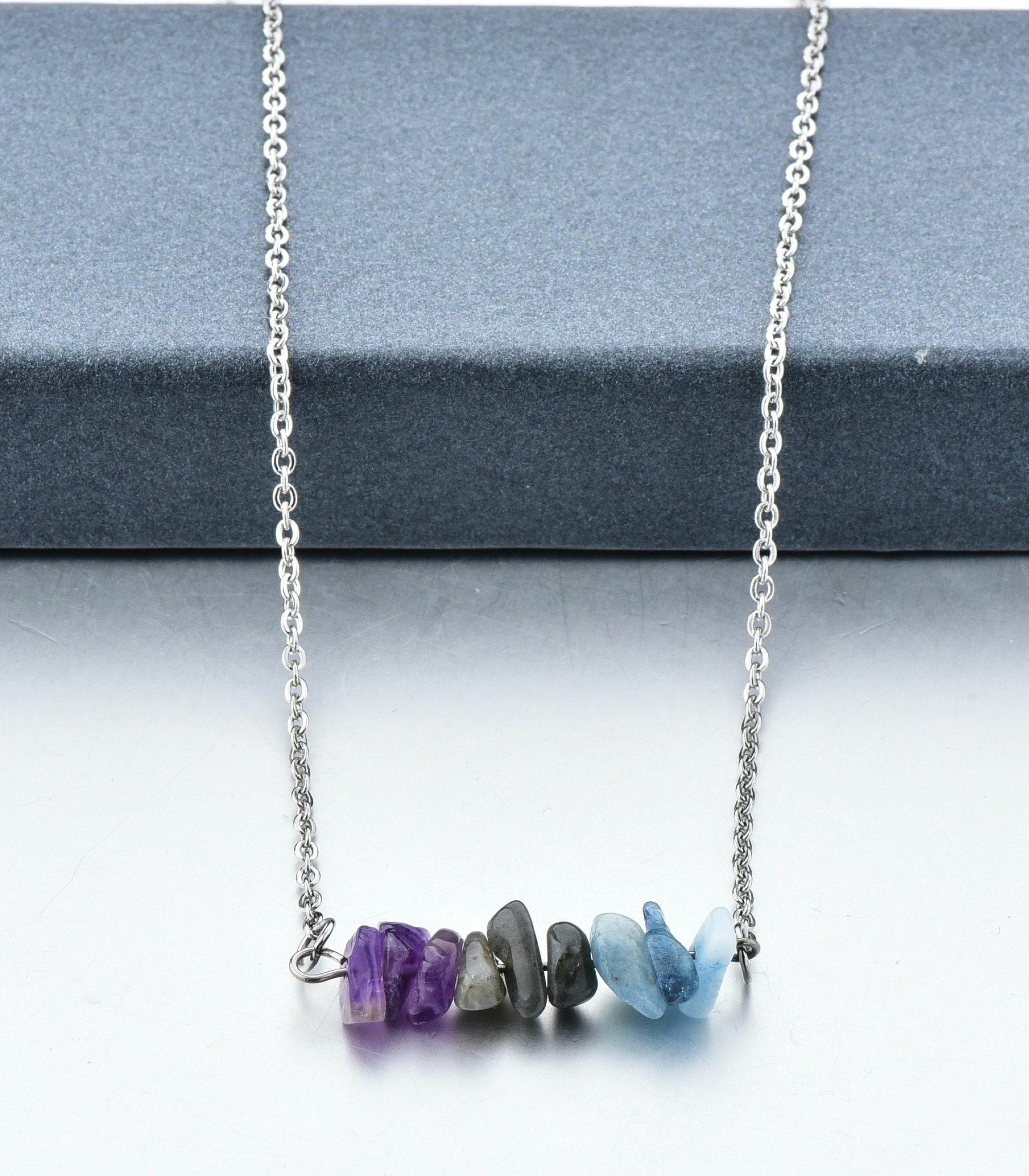 Soul Stone Energy Bar Necklace (6 variants)