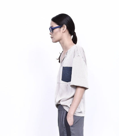 Top - ANDROGYNE 002 | One Pocket Cropped Top