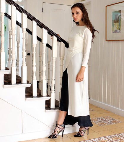Top - Gravelines Asymmetrical Jersey Tunic