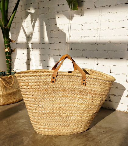 Tote - Ansa Handwoven Basket Tote