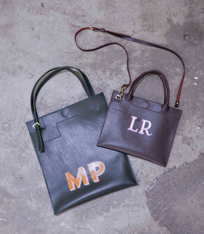 Tote - Leather Tote (Tall)