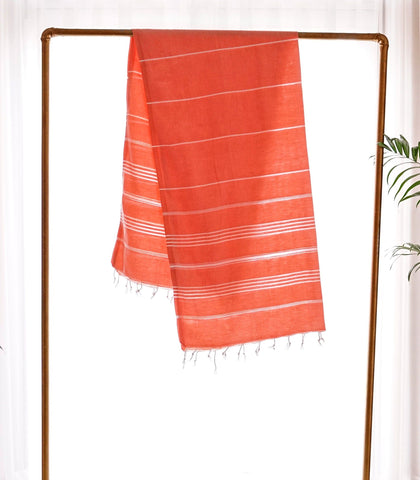 Towels - Coral Turkish Towel