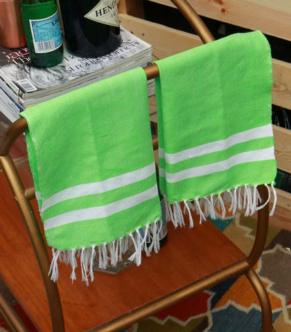 Towels - Handwoven Tea Towels Set Of 2