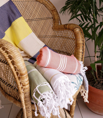 Towels - Moss Turkish Towel