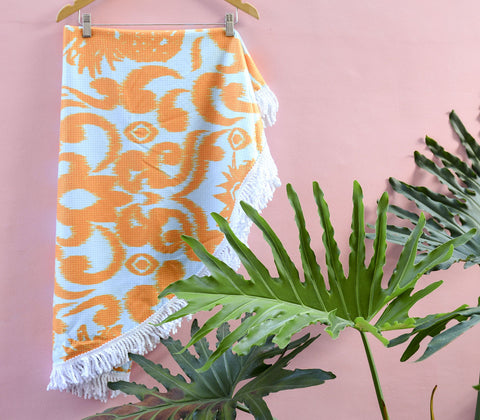 Towels - Piña Ikat Round Beach Towel