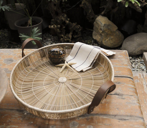 Tray - Buri Metro Tray By Stanley Ruiz For Hacienda Crafts