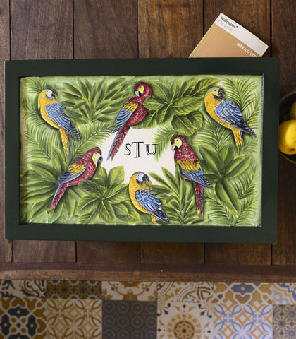 Tray - Varadero Handpainted Sofa Tray