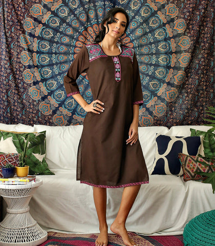 Tunic - Korba Embroidered Tunic