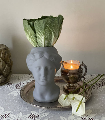 Vase - Venus Head Ceramic Vase