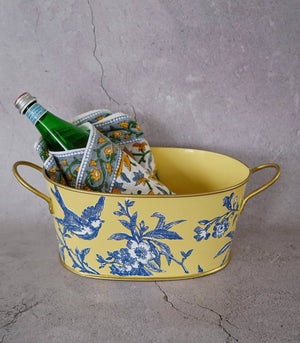 Wine Bucket - Carrito Cinque Oval Caddy - 2 Sizes