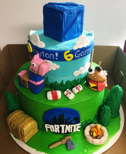 Fortnite Cake Kit