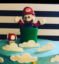 Load image into Gallery viewer, Fondant Mario Bros. Cake Topper