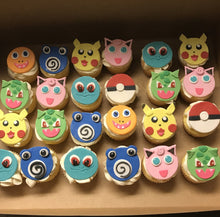 Load image into Gallery viewer, Pokemon Cupcake Toppers