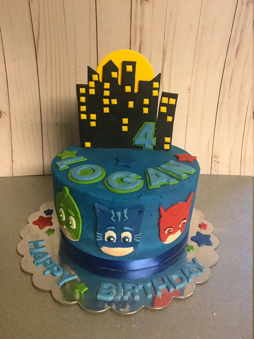Fondant PJ Masks Cake Kit