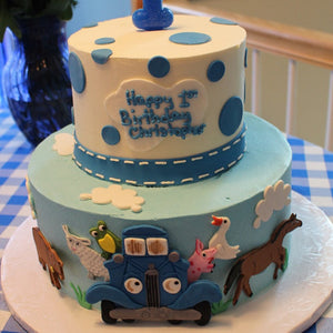 Little Blue Truck Cake Kit