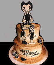 Load image into Gallery viewer, Bendy and The Ink Machine Cake Kit