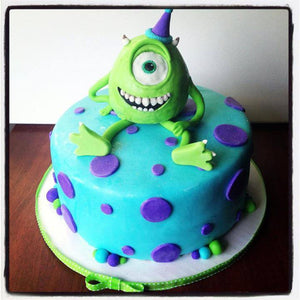 Monsters University Inspired Cake Decoration
