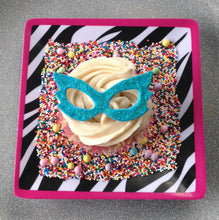 Load image into Gallery viewer, Glitter Mask Cupcake Toppers