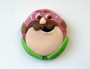Monsters University Inspired Cupcake Toppers