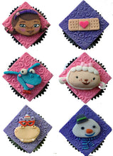 Load image into Gallery viewer, Doc McStuffins Inspired Cupcake Toppers