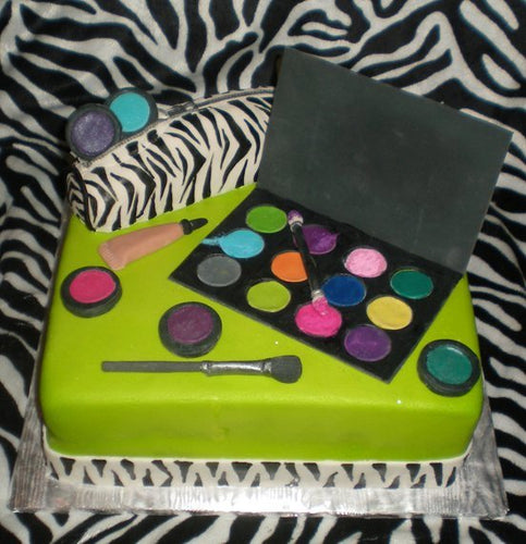Makeup Cake Decorations