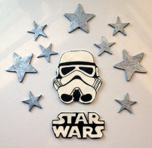 Load image into Gallery viewer, Star Wars Inspired Cake Toppers