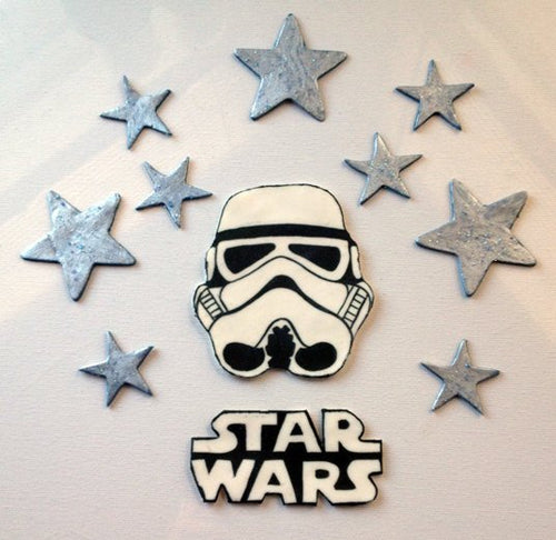 Star Wars Inspired Cake Toppers
