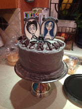 Load image into Gallery viewer, Corpse Bride Fondant Gumpaste Cake Toppers