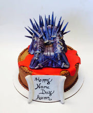 Load image into Gallery viewer, Game of Thrones Edible Iron Throne Cake Topper
