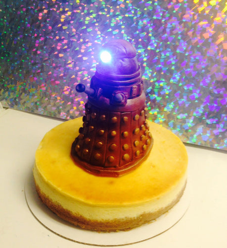 Light Up Dr Who Dalek Cake Topper