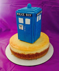 Dr Who Tardis Cake Topper