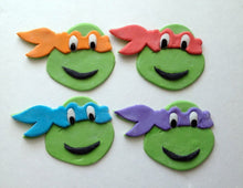 Load image into Gallery viewer, Teenage Mutant Ninja Turtles Cupcake Toppers