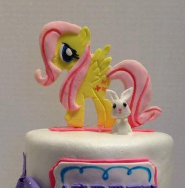 Fondant My Little Pony Cake Toppers