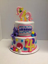 Load image into Gallery viewer, Fondant My Little Pony Cake Toppers
