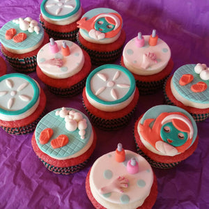 Spa Cupcake Toppers