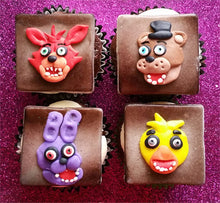 Load image into Gallery viewer, Five Nights at Freddy's Cupcake Toppers