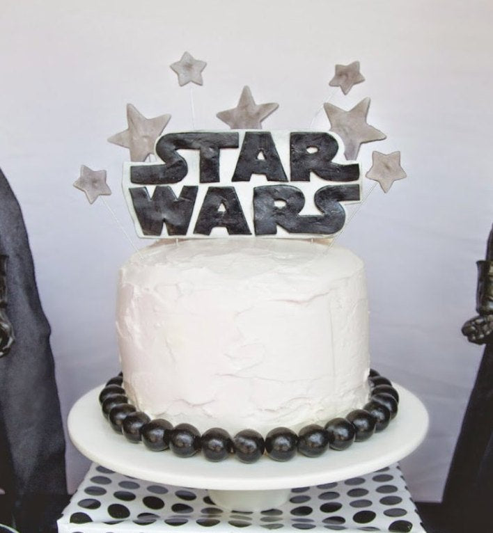 Star Wars Cake Topper