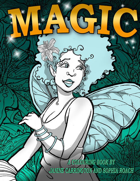 Magic - Colouring Book