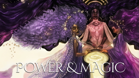 POWER & MAGIC: The Queer Witch Comics Anthology