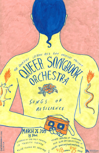 DONATE Youth Tickets to the Queer Songbook Orchestra