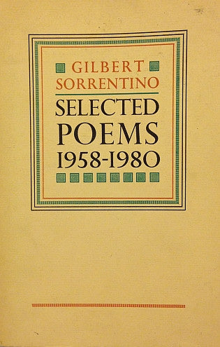 Selected Poems 1958-1980