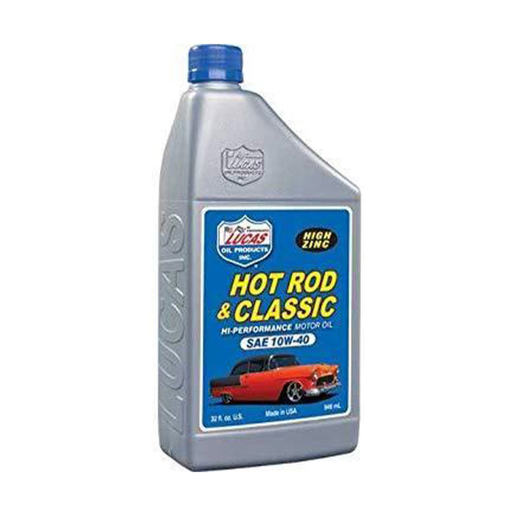 Lucas Oil 10W-40 Hot Rod and Classic Oil