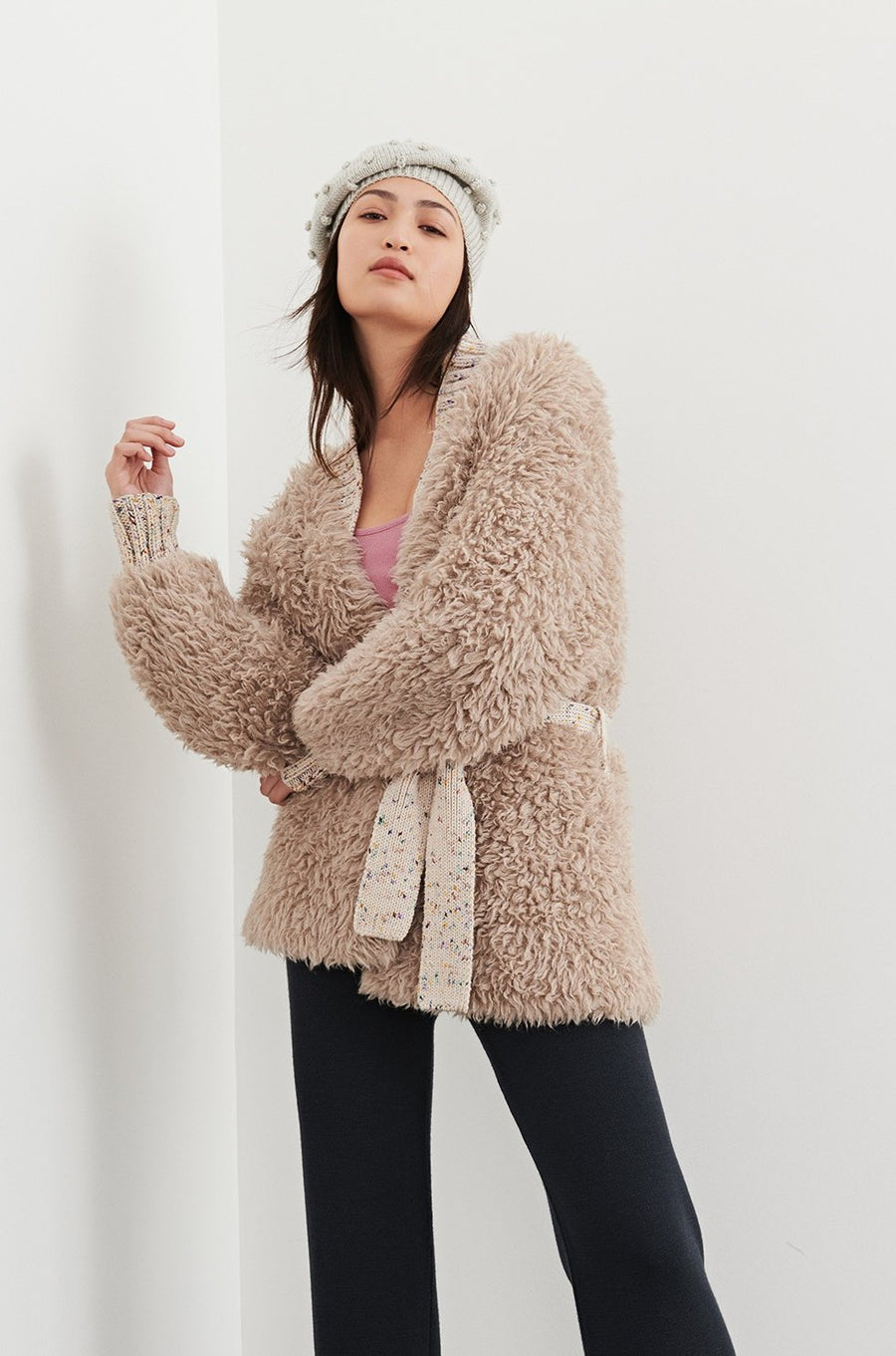 Adult Furry Alpaca Jacket